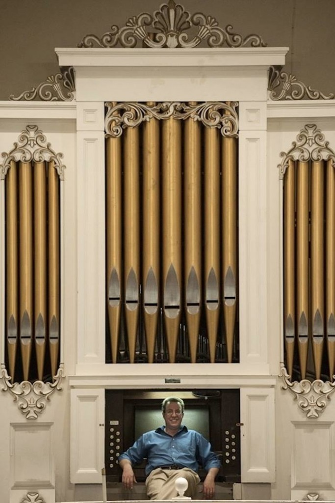 At the Organ